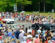 4th of July_Glen Arbor_40s 50s sleeping bear dunesmobile car_parade