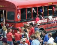 4th of July_Glen Arbor_Cherry Republic bus staff