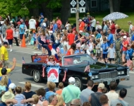 4th of July_Glen Arbor_Mary Turak Grand Marshall