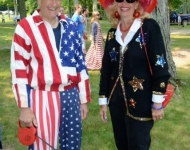 4th of July_Glen Arbor_old settlers Vic Theis_Kathy Baad