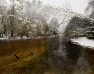 Bob Ashmun Photography_Crystal River Glen Arbor in Winter