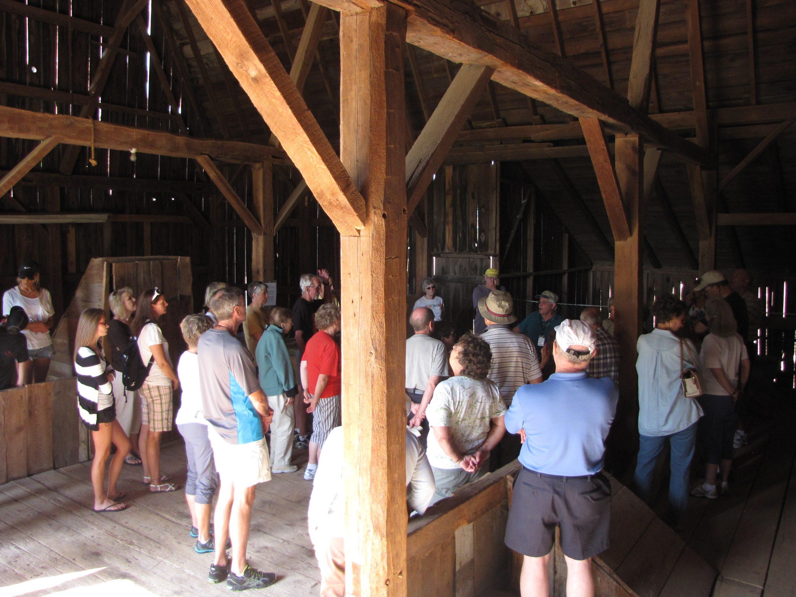 Port Oneida historic barn tour