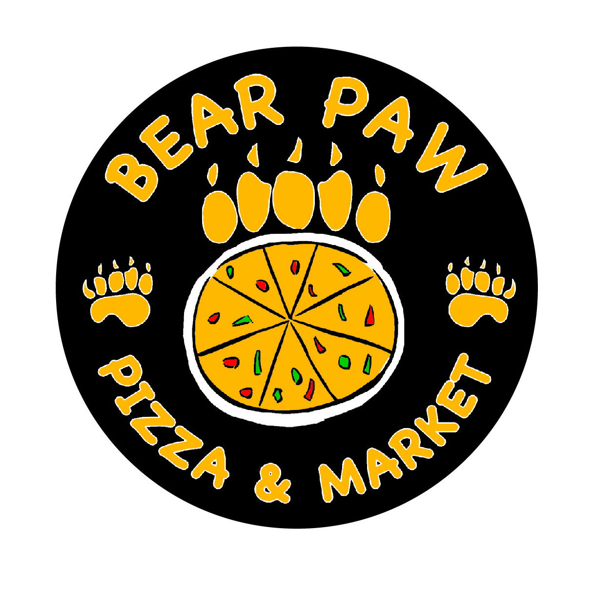 Bear Paw Pizza and Market Logo