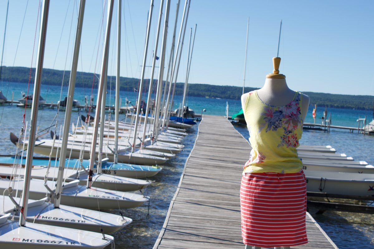 photo of outfit on mannequin from Cottonseed Apparel
