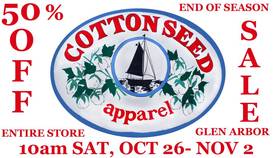 Cottonseed apparel_sale ad
