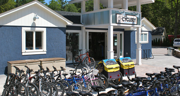 The Cyclery storefront