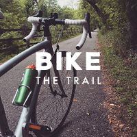 bike the trail graphic