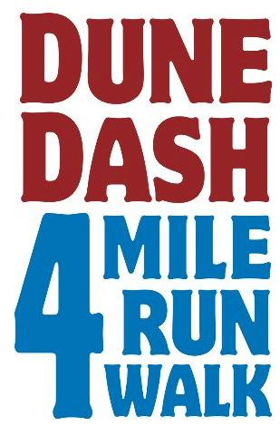 Dune Dash_4 mile Run walk event logo