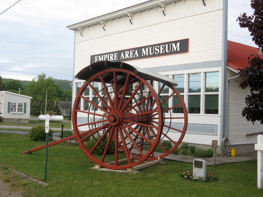 exterior of Empire Museum building