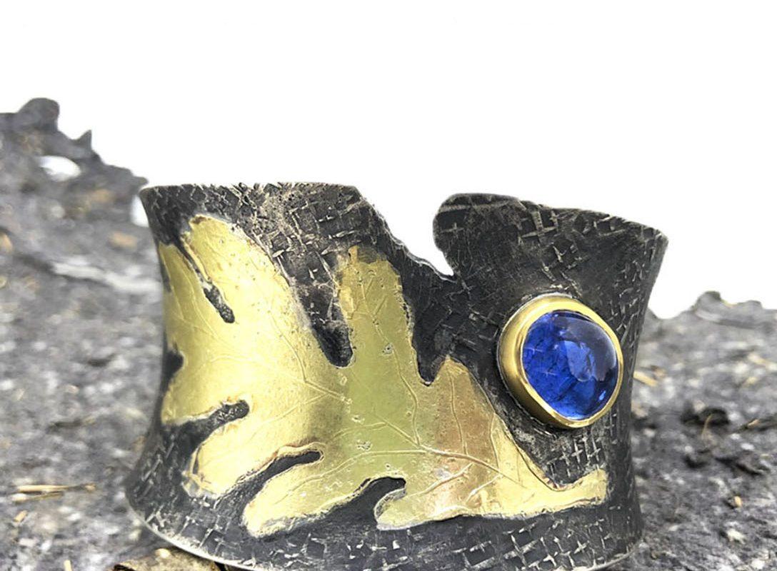 becky thatcher jewelry designs - oak cuff
