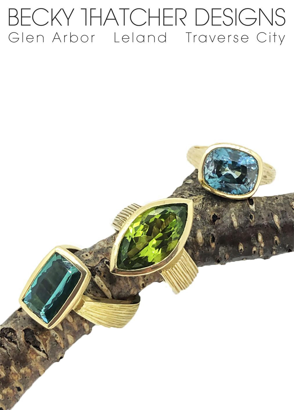 precious gemstone rings by becky thatcher jewelry designer