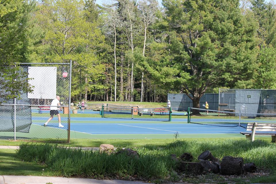 Glen Arbor community Park Tennis Courts