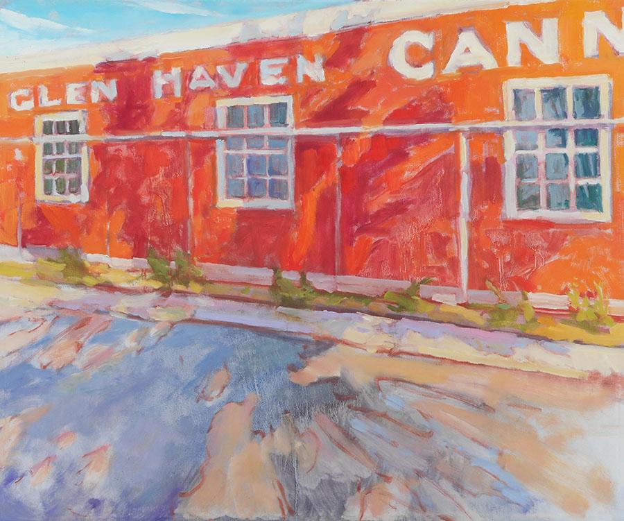 glen haven cannery artwork