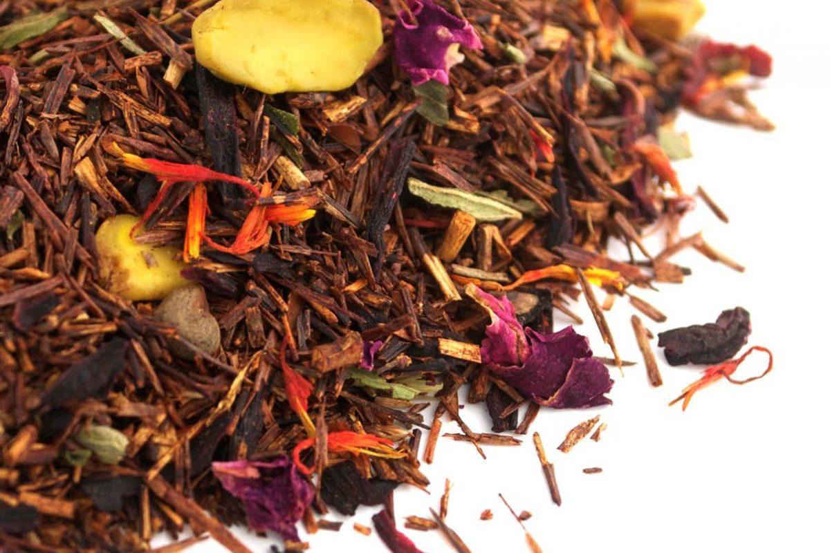 loose leaf tea up close