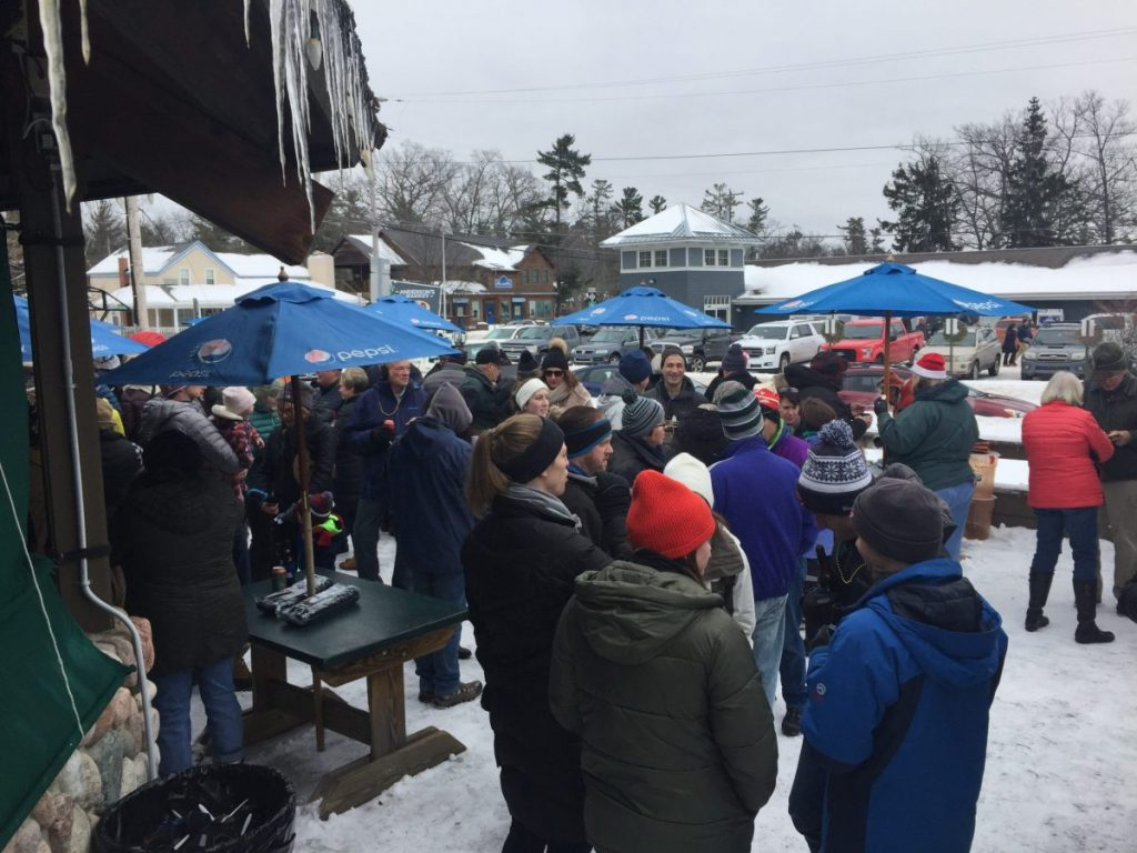 winterfest glen arbor chili cook off perch contest
