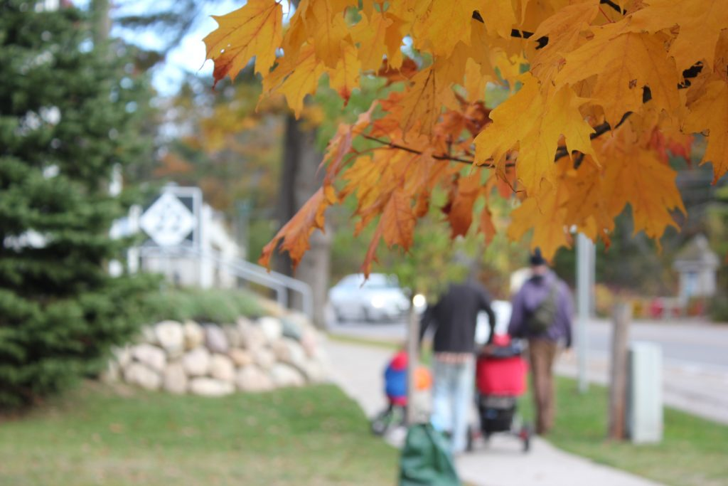 fall family fun in Glen Arbor; shop, dine, treat