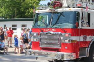 glen lake fire truck