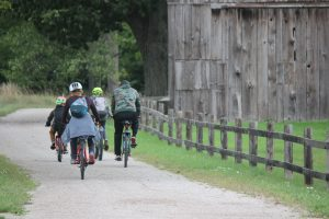 family biking heritage trail