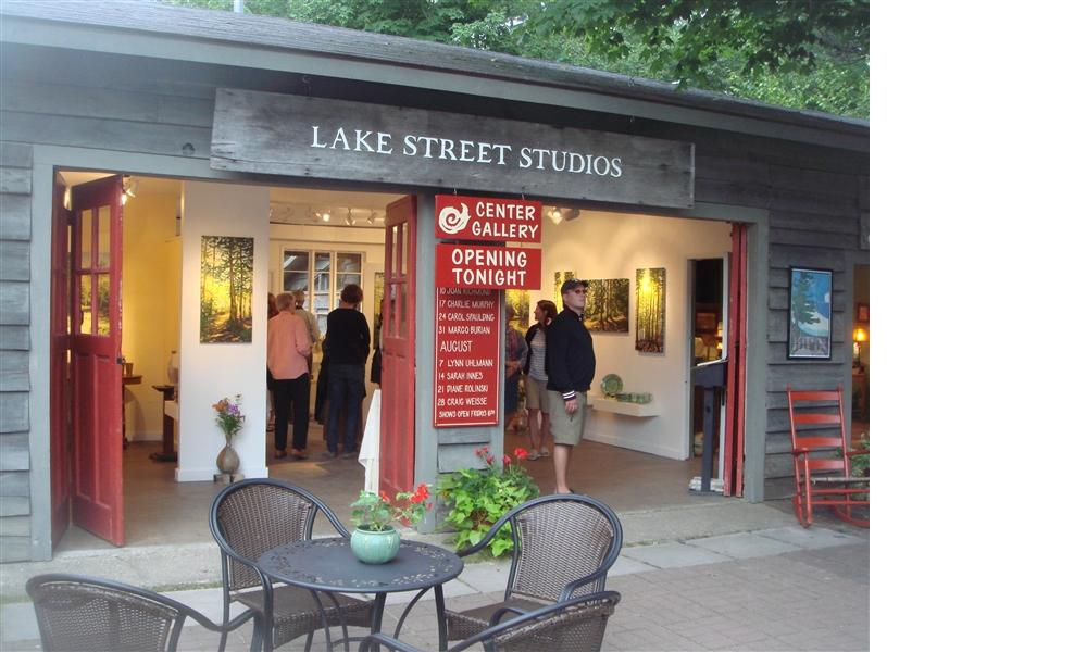 lake street studios gallery opening