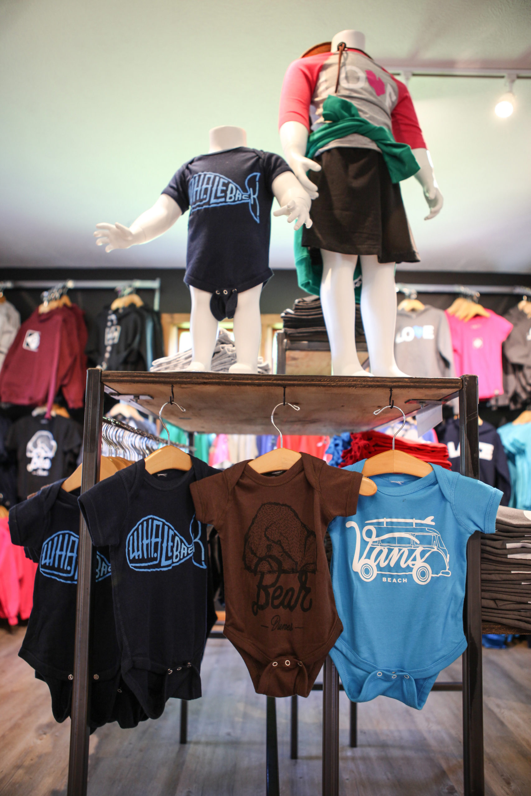 kids clothing at M22 store glen arbor