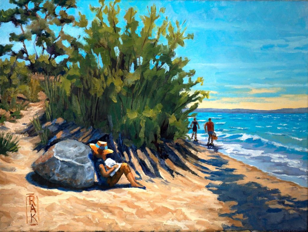 Plein Air Painter_beach scene