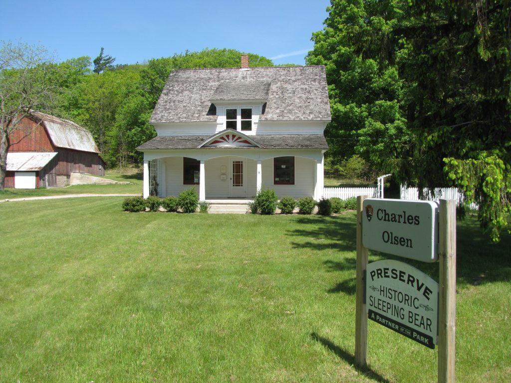 visit Charles Olsen farm