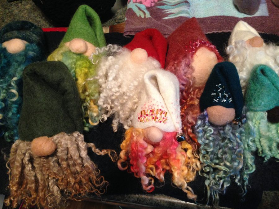 photo of Riverfront Fiber handmade gnomes