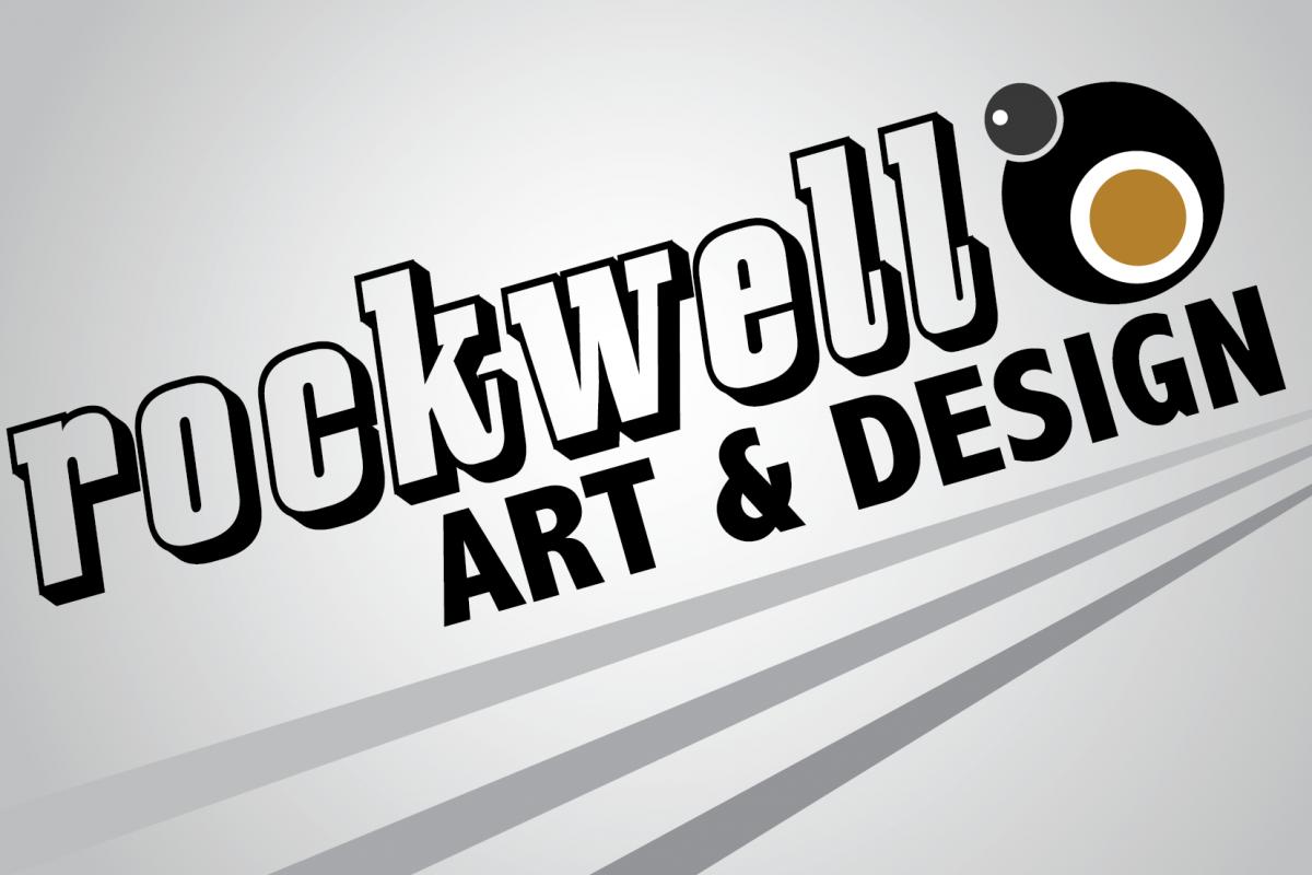 rockwell art + design logo graphic