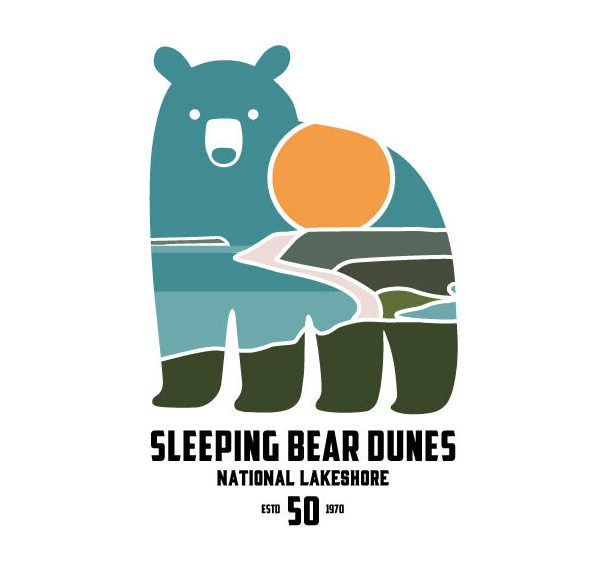 Sleeping-Bear-Dunes-50th-Logo