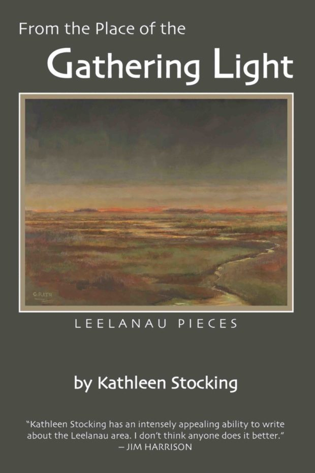 gathering light book cover from Leelanau Press