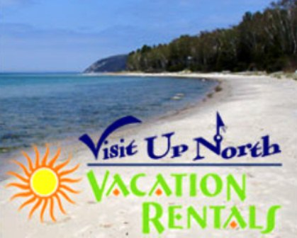 Visit Up North Vacation Rentals logo