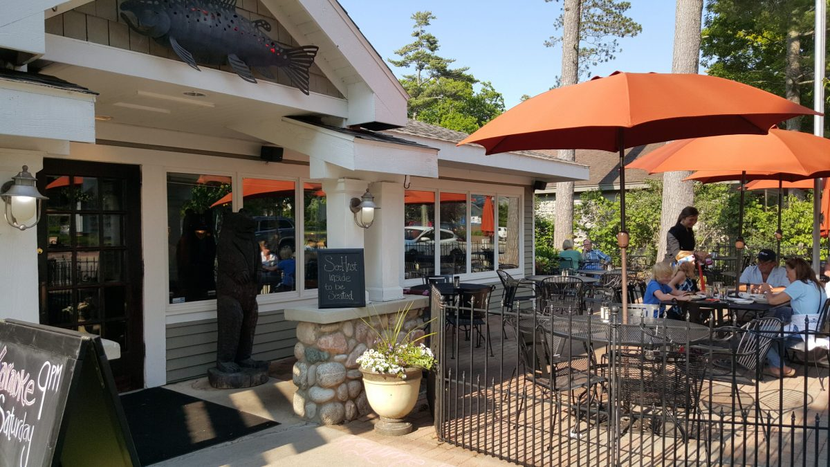 people dining at Western Ave Grill