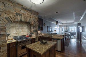 lebear resort beautiful kitchen