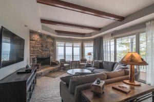 lebear resort remodeled living room