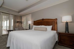 lebear resort master bedroom