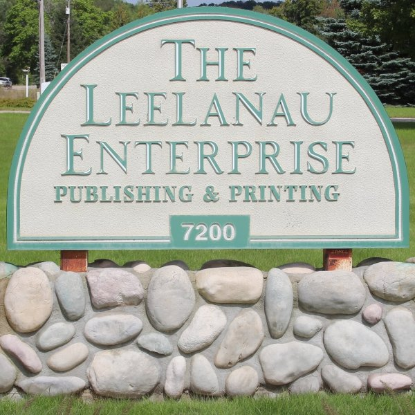 Leelanau Enterprise Printing Publishing Sign