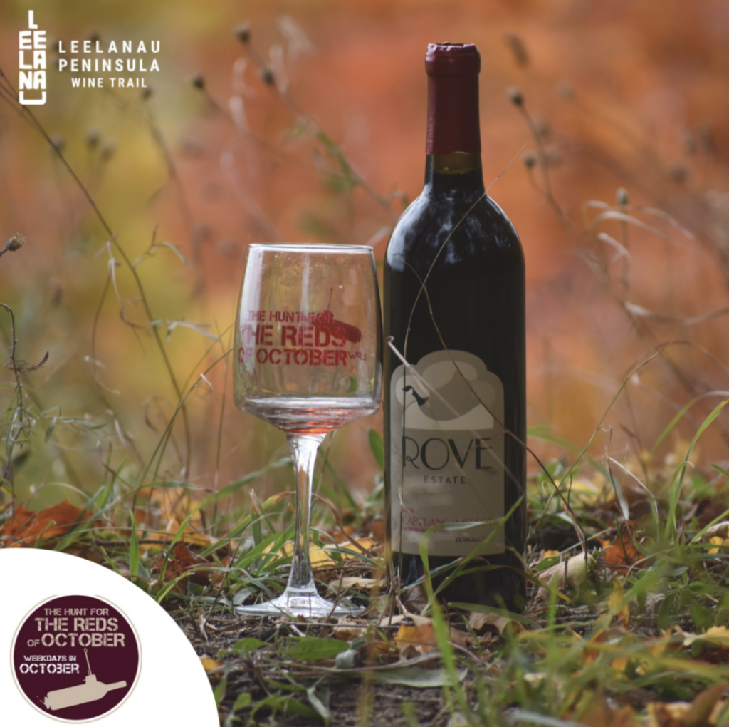 hunt for reds of october leelanau county wine event